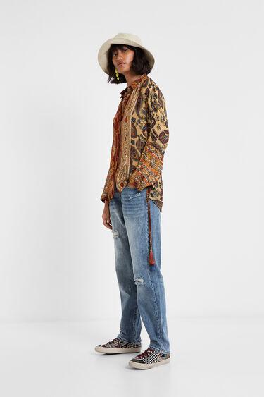 Boho Hindu shirt   Desigual