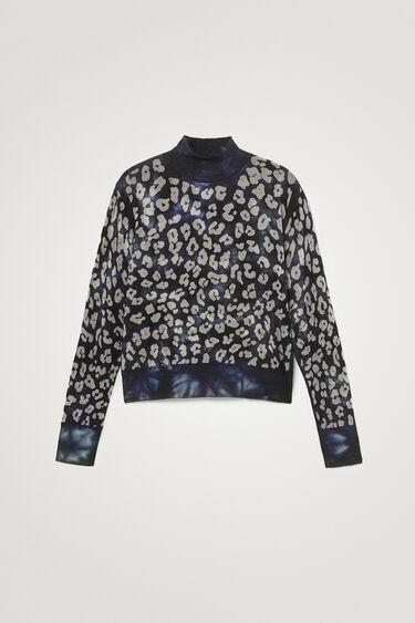 Maglione a maglia stampa animalier | Desigual