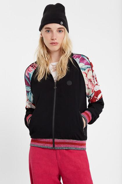 Floral track suit jacket