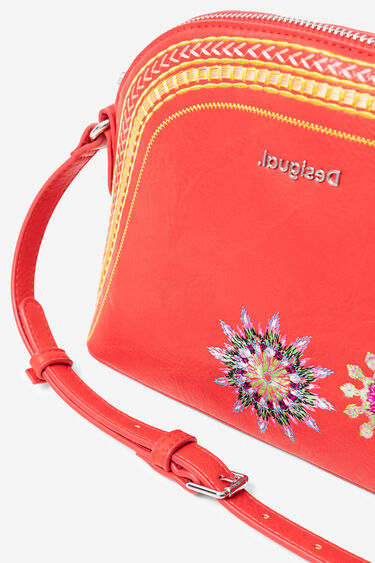 Sling bag embroidered mandalas | Desigual