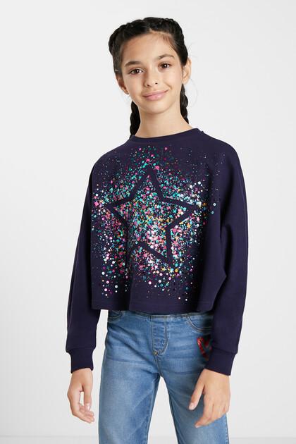 Oversize sweatshirt star