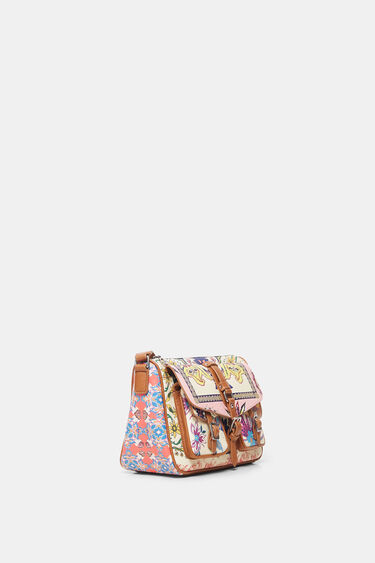Boho sling bag pockets | Desigual