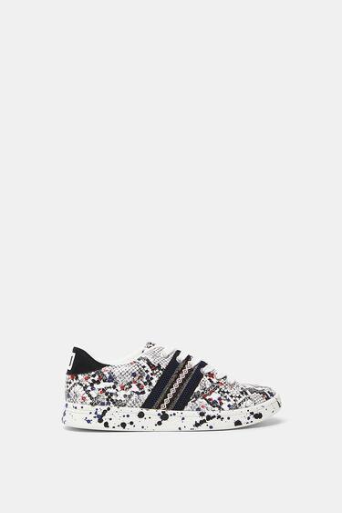 Schuhe in Schlangenlederoptik | Desigual