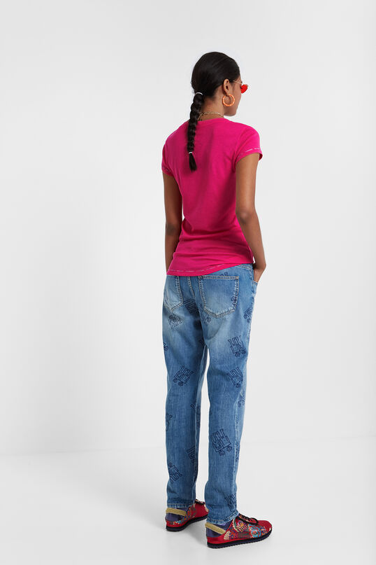 Samarreta groga Basic Petite | Desigual