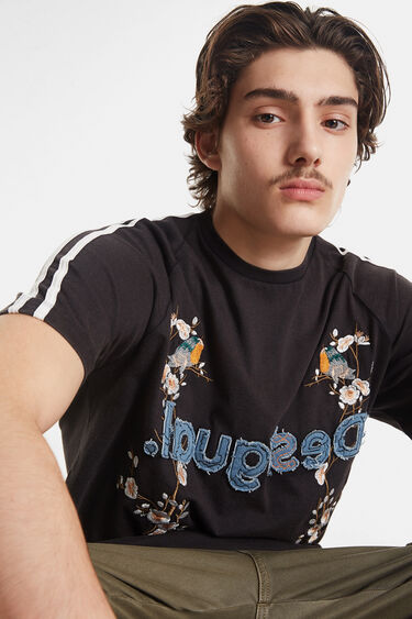 Japanese-inspired T-shirt and logo | Desigual