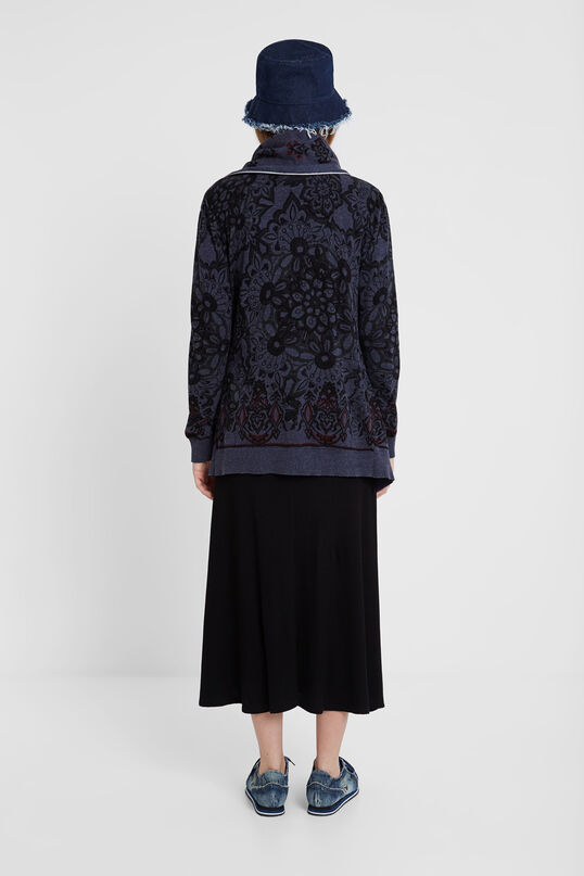 Neck cape jacket   Desigual