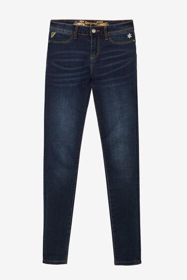 Skinny jeans versleten Sky | Desigual