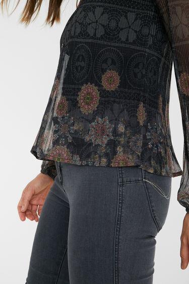 Pleated shirt mandalas   Desigual