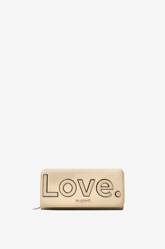 LOVE message coin purse