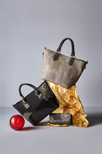 Ensemble deux sacs et porte-monnaie