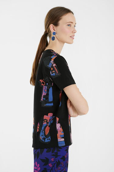 T-shirt ample 100% coton | Desigual