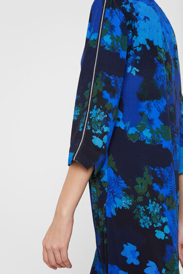 Straight dress floral camouflage | Desigual