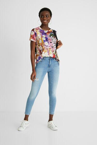 Cotton T-shirt collage | Desigual