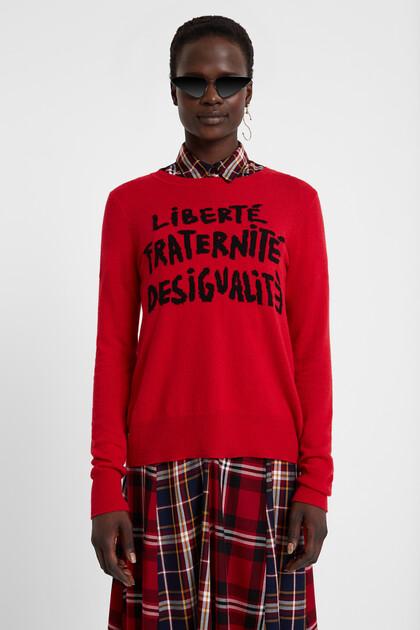 Desigualité knit sweater