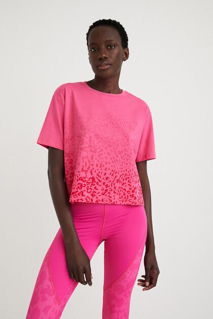 Leopard T-shirt 100% cotton