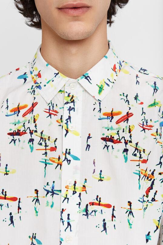 Camisa estampat surf | Desigual