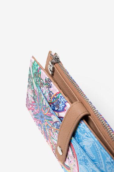Rectangular Purse Mexican Cards Pia | Desigual