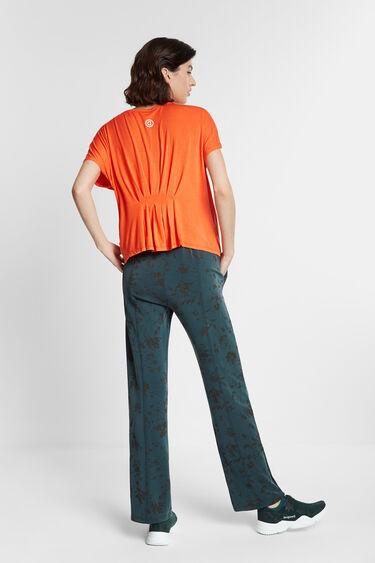 Koszulka z plisowaniem z tyłu | Desigual