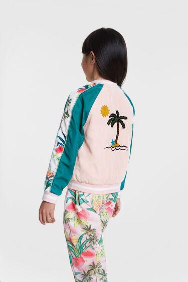 Jaqueta hawaiana amb punta | Desigual