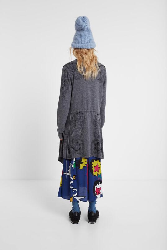 Woll-Cardigan mit Gürtel | Desigual
