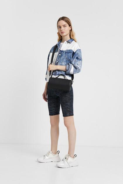 Short Lurex leggings
