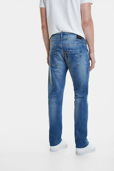Double waistband jeans | Desigual
