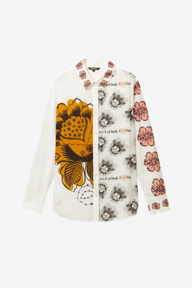 Maxiflowers silk shirt | Desigual
