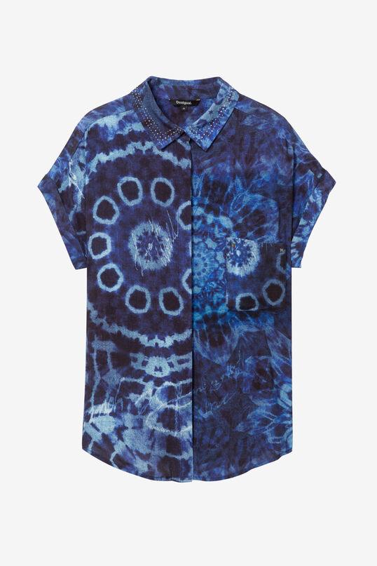 Camisa tye-die de viscosa   Desigual