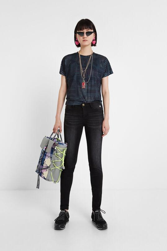 Pantalons texans flor skinny | Desigual