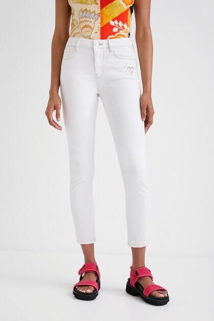 Skinny heart jeans