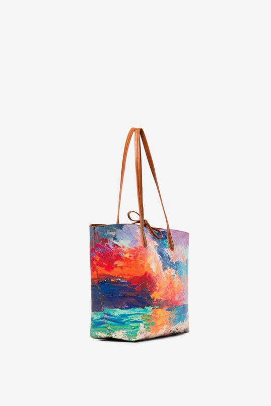 Reversible Beach Bag Capri | Desigual