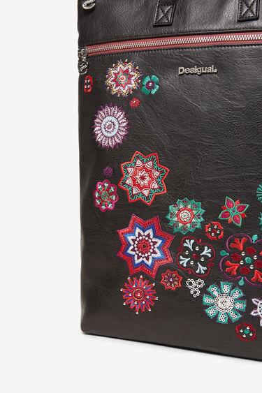 Plecak z motywami mandali i cekinami | Desigual