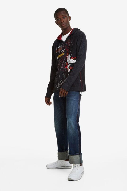Sweatshirt met capuchon   Desigual