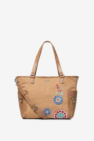 Camel Embroidered PU Bag Aliki Maxton