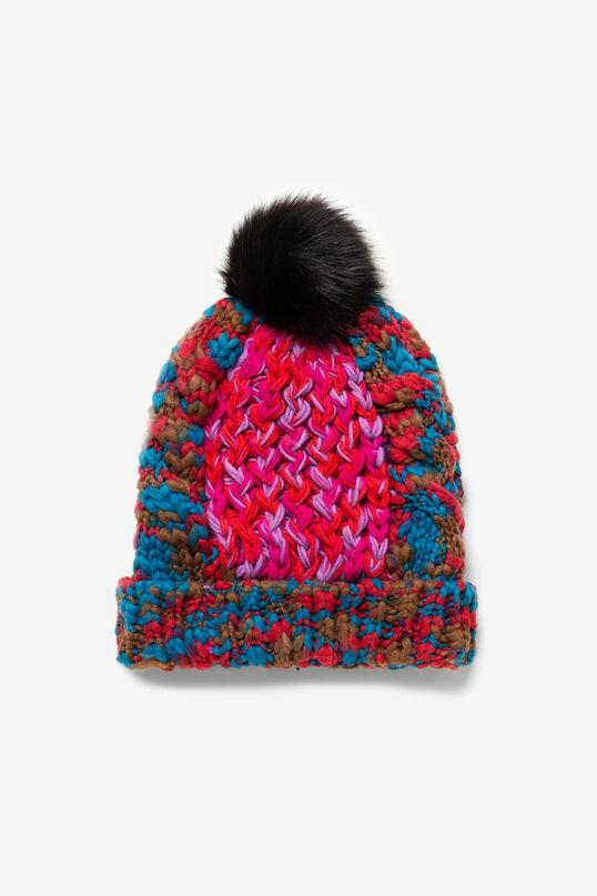 Berretto maglia spessa multicolore | Desigual