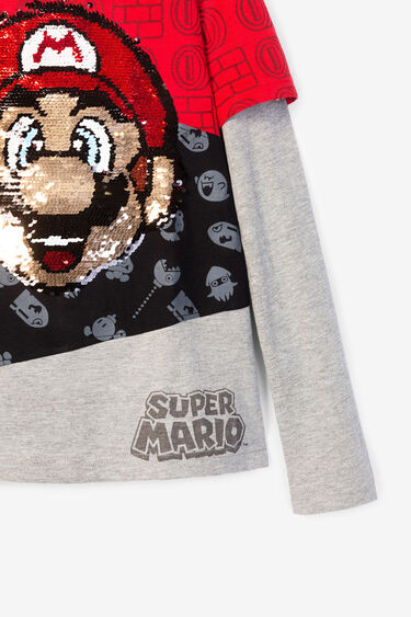 Basic Super Mario double sleeve T-shirt | Desigual