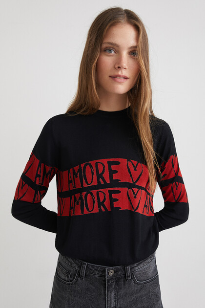 Pull maille amore
