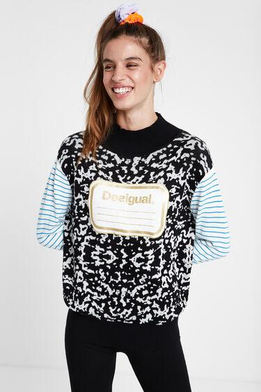Maglia tricot collo alto Young Talents | Desigual