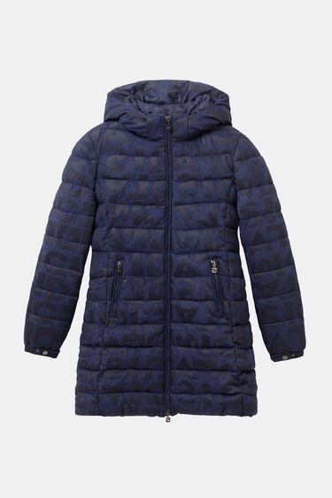 Long padded jacket letters | Desigual