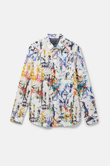 Shirt multicolour graffiti | Desigual