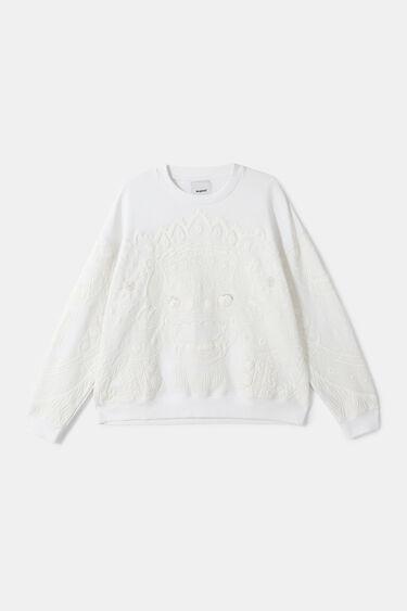 Oversize Balinese sweatshirt | Desigual