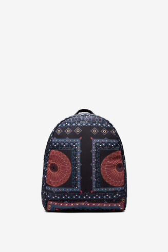 Mandala print backpack