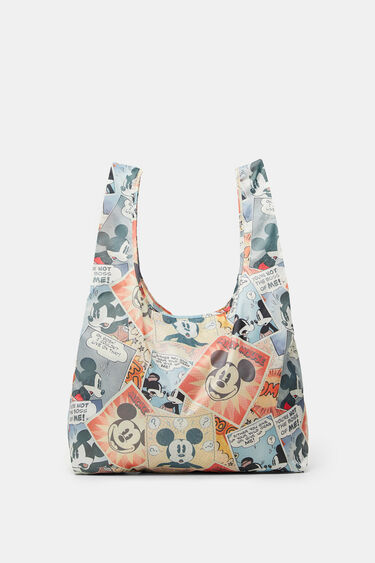 Folding Mickey Mouse bag | Desigual