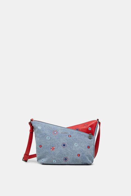 Sling bag crossed silhouette