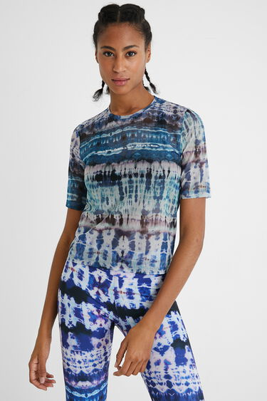 T-shirt sheer tulle | Desigual