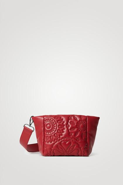Sling bag padded leather