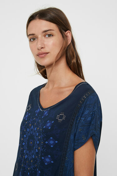 T-shirt maille mandala | Desigual