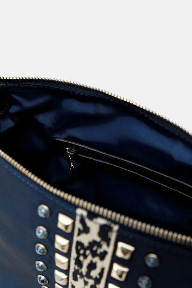 Animal print band sling bag | Desigual