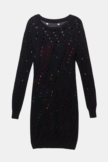 Tricot multilayer dress | Desigual