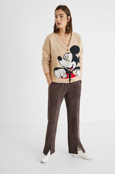 Mickey Mouse knit jacket | Desigual